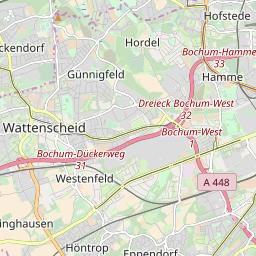 Herne Karte Stadtteile.Ubersicht Der Wochenmarkte In Herne
